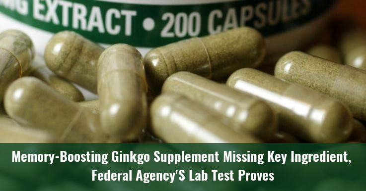 Memory-Boosting Ginkgo Supplement Missing Key Ingredient